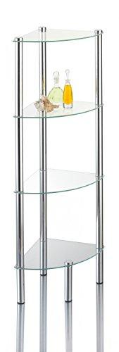 Einfaches Glas Badregal kaufen