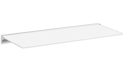 Badezimmer Wandregal aus Edelstahl oder weiß