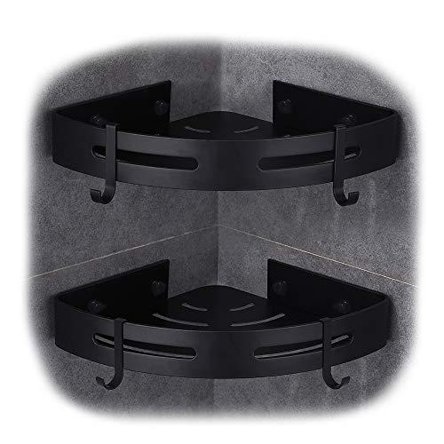 Badregal schwarz - dunkles Badezimmerregal