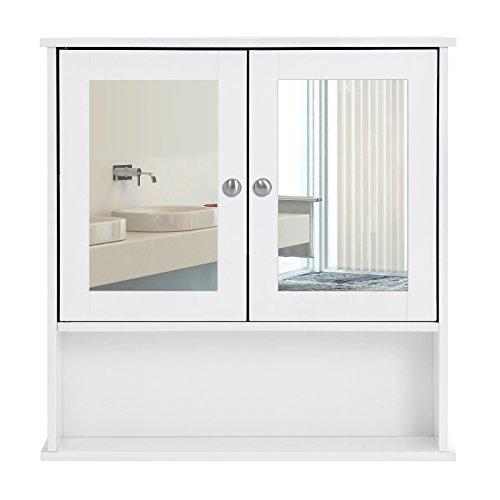 Badezimmer h ngeschrank for Schminkschrank mit spiegel