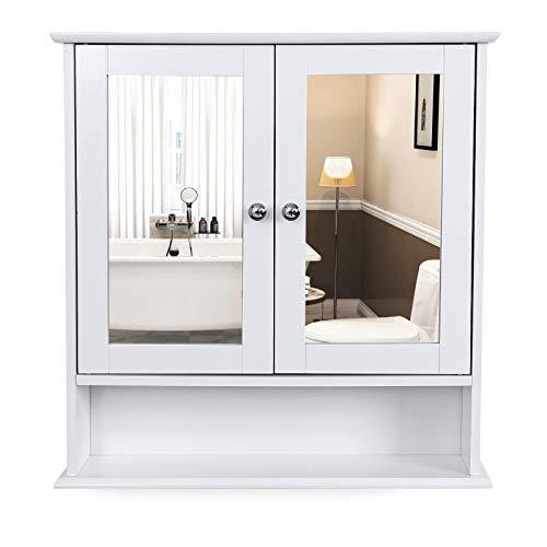 Badezimmer spiegelschrank for Schminkschrank mit spiegel