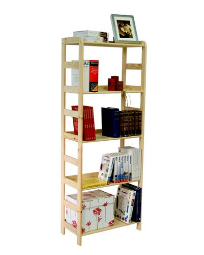 Kiefer Massiv Regal Bücherregal Büroregal Modulregal R * 8 Varianten (R 09 HxBxT 166x63x33 cm)
