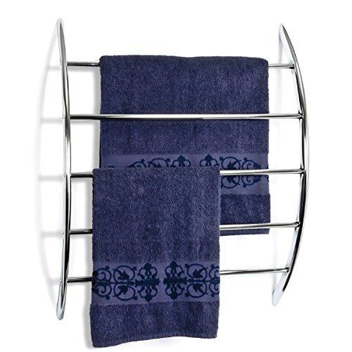 bremermann® Handtuchhalter zur Wandmontage mit 5 Stangen aus Metall