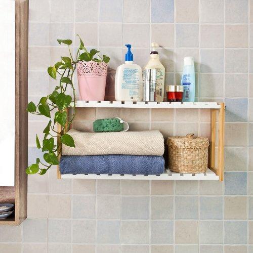 Badezimmer Regal Hängend: Badezimmer Hängeregal