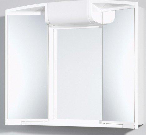 Badezimmer spiegelschrank for Spiegelschrank mit steckdose