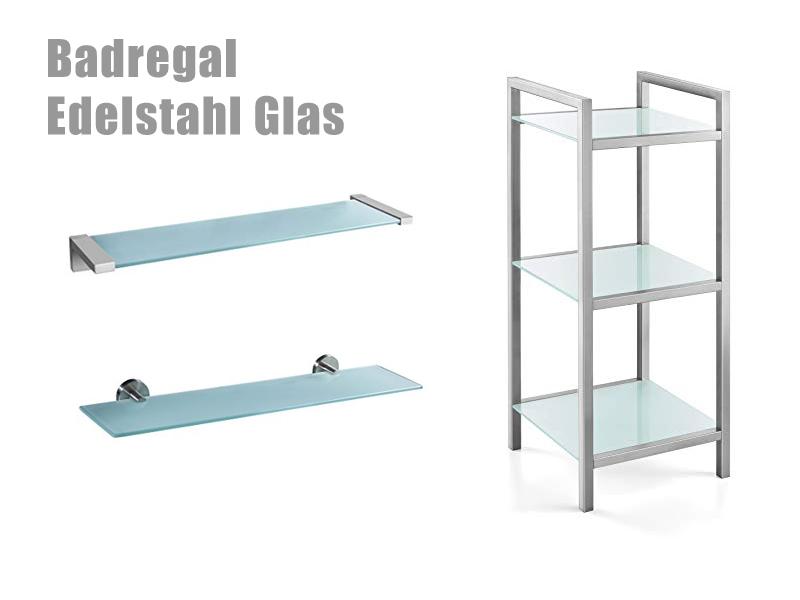 Badregal Edelstahl - Badezimmerregal