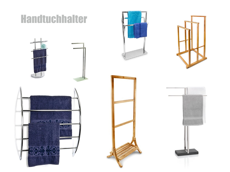 handtuchst nder edelstahl chrom oder holz. Black Bedroom Furniture Sets. Home Design Ideas