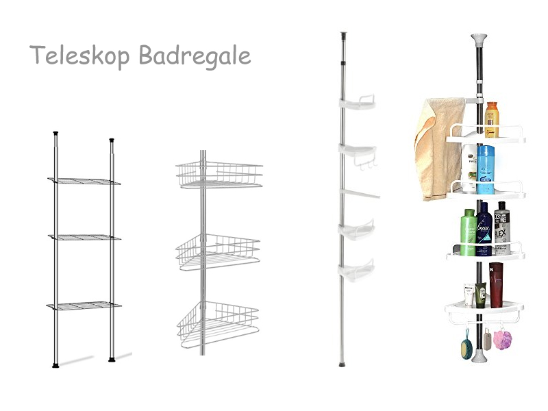 Teleskopstange Badezimmer ~ Bestes inspirationsbild für Hauptentwurf